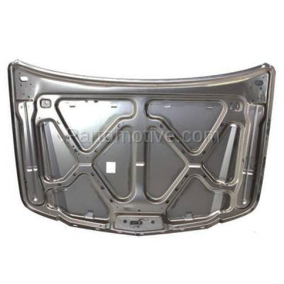 Aftermarket Replacement - HDD-1261 2002-2006 Cadillac Escalade & Escalade ESV/EXT (Sport Utility OR Crew Cab Pickup 4-Door) Front Hood Panel Assembly Primed Steel - Image 2