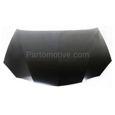 Aftermarket Replacement - HDD-1255 2004-2008 Pontiac Grand Prix (Base, GT, GT1, GT2, GXP) V6/V8 (Sedan 4-Door) Front Hood Panel Assembly Primed Steel - Image 1