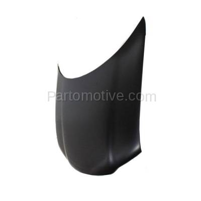 Aftermarket Replacement - HDD-1077 1995- 2000 Chrysler Cirrus & Dodge Stratus & Plymouth Breeze (Sedan 4-Door) Front Hood Panel Assembly Primed Steel - Image 2