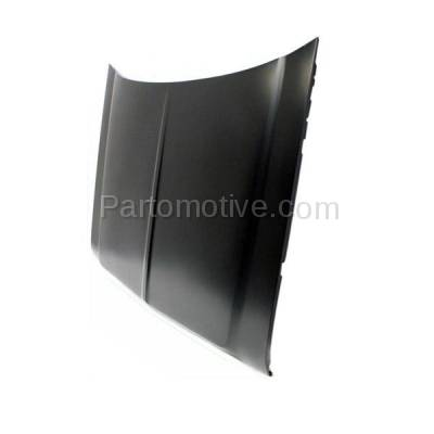 Aftermarket Replacement - HDD-1072 1981-1993 Dodge Ramcharger & D150/D250/D350/D400/D500 & W150/W250/W350 Full Size Pickup Truck Front Hood Panel Assembly Primed Steel - Image 2