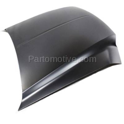Aftermarket Replacement - HDD-1167 2000-2005 Ford Excursion & 1999-2007 F-Series F250/F350/F450/F550 Super Duty Pickup Truck Front Hood Panel Assembly Primed Steel - Image 2