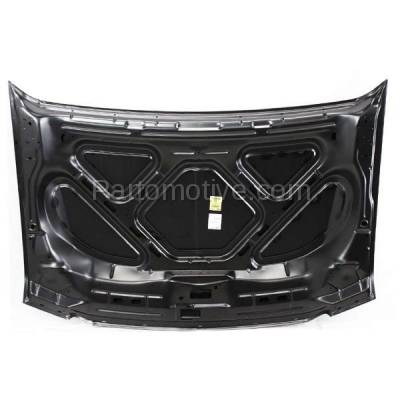 Aftermarket Replacement - HDD-1167 2000-2005 Ford Excursion & 1999-2007 F-Series F250/F350/F450/F550 Super Duty Pickup Truck Front Hood Panel Assembly Primed Steel - Image 3