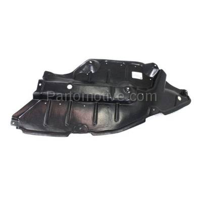 Aftermarket Replacement - ESS-1614LC 2009-2016 Toyota Venza (AWD, Base. LE, Limited, V6, XLE) Front (Front Section) Engine Under Cover Splash Shield Plastic Left Driver Side - Image 2