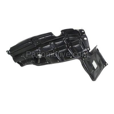 Aftermarket Replacement - ESS-1633LC CAPA For 07-12 Yaris & xD Front Engine Splash Shield Under Cover LH Driver Side - Image 2