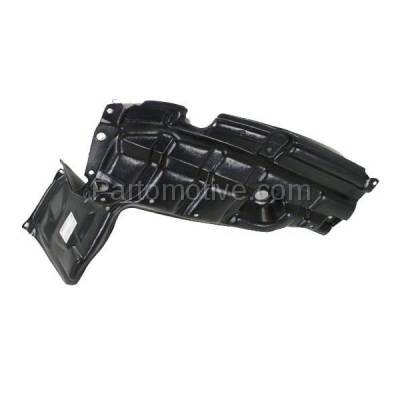 Aftermarket Replacement - ESS-1633RC CAPA For 07-12 Yaris & xD Front Engine Splash Shield Under Cover Passenger Side - Image 2