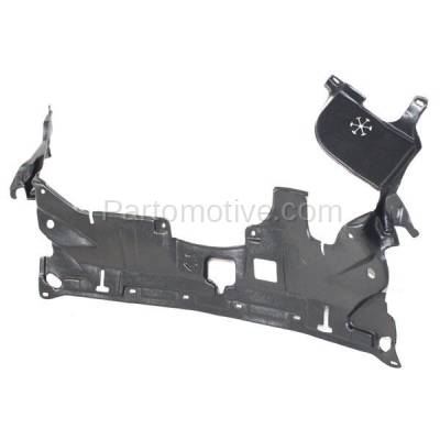 Aftermarket Replacement - ESS-1254C CAPA For 03-07 Accord Front Engine Splash Shield Under Cover Guard 74111SDAA00 - Image 2
