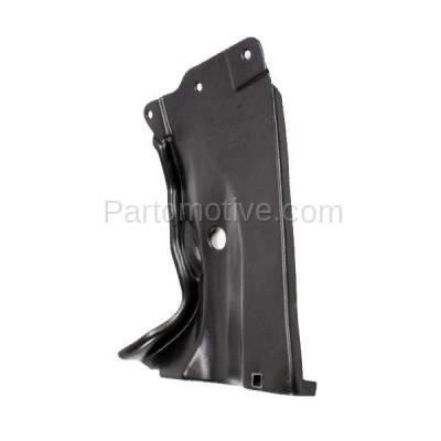 Aftermarket Replacement - ESS-1427C CAPA For 04-09 Mazda3 06-10 Mazda5 Rear Engine Splash Shield Under Cover Driver - Image 2