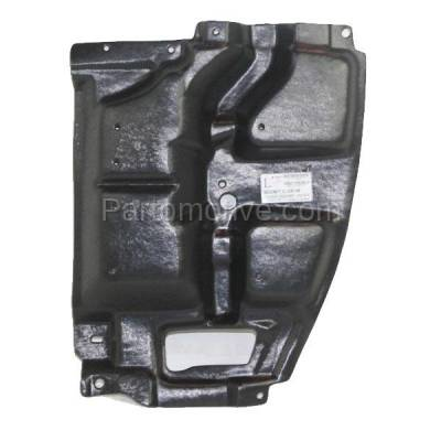Aftermarket Replacement - ESS-1553LC CAPA For 05-10 tC Front Engine Splash Shield Under Cover Driver Side 5144221030 - Image 1