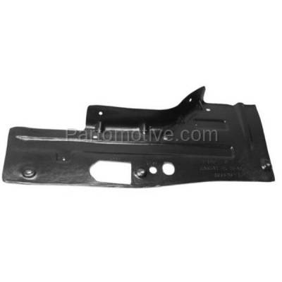 Aftermarket Replacement - ESS-1192LC 2013-2016 Buick LaCrosse/Chevrolet Malbu & 2014-2017 Chevy Impala Front Engine Under Cover Splash Shield Guard Plastic Left Driver Side - Image 1