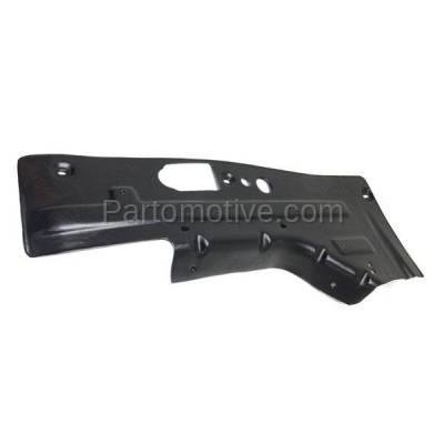 Aftermarket Replacement - ESS-1192LC 2013-2016 Buick LaCrosse/Chevrolet Malbu & 2014-2017 Chevy Impala Front Engine Under Cover Splash Shield Guard Plastic Left Driver Side - Image 2