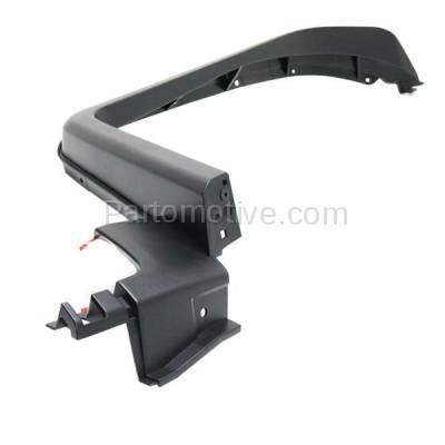Aftermarket Replacement - FDF-1060RC CAPA For 07-14 FJ Cruiser Front Fender Flare Wheel Opening Molding Trim RH Side - Image 2