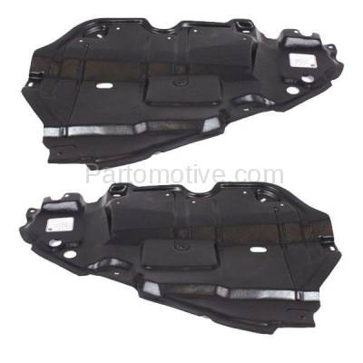 Aftermarket Replacement - ESS-1634L & ESS-1634R 07-09 Camry Engine Splash Shield Under Cover Guard USA Built Left Right SET PAIR - Image 1
