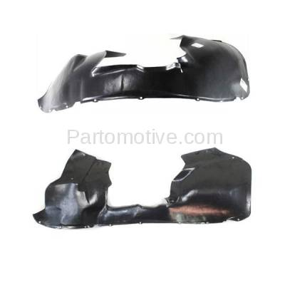Aftermarket Replacement - IFD-1187L & IFD-1187R 04-08 Pacifica Front Splash Shield Inner Fender Liner Panel Left Right PAIR SET - Image 2
