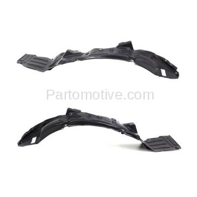 Aftermarket Replacement - IFD-1186L & IFD-1186R 01-02 Stratus Coupe Front Splash Shield Inner Fender Liner Left & Right SET PAIR - Image 1