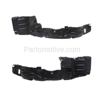 Aftermarket Replacement - IFD-1186L & IFD-1186R 01-02 Stratus Coupe Front Splash Shield Inner Fender Liner Left & Right SET PAIR - Image 2