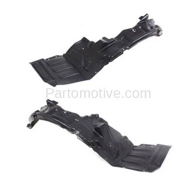 Aftermarket Replacement - IFD-1186L & IFD-1186R 01-02 Stratus Coupe Front Splash Shield Inner Fender Liner Left & Right SET PAIR - Image 3