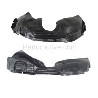 Aftermarket Replacement - IFD-1115L & IFD-1115R 14-16 Cherokee Front Splash Shield Inner Fender Liner Panel Left Right PAIR SET - Image 2