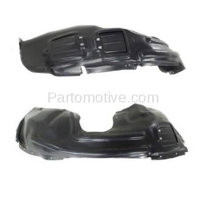 Aftermarket Replacement - IFD-1115L & IFD-1115R 14-16 Cherokee Front Splash Shield Inner Fender Liner Panel Left Right PAIR SET - Image 3