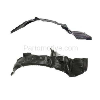 Aftermarket Replacement - IFD-1188L & IFD-1188R 01-02 Sebring Coupe Front Splash Shield Inner Fender Liner Left & Right PAIR SET - Image 2