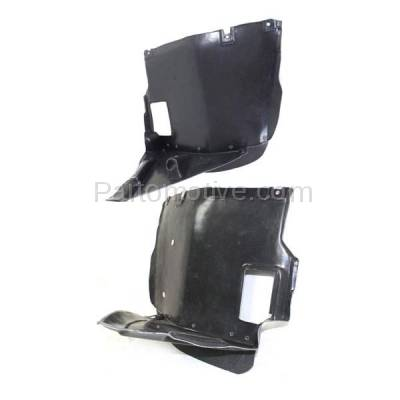 Aftermarket Replacement - IFD-1102L & IFD-1102R 01-06 3-Series Front Splash Shield Inner Fender Liner Panel Left Right SET PAIR - Image 1