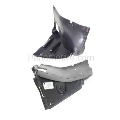 Aftermarket Replacement - IFD-1102L & IFD-1102R 01-06 3-Series Front Splash Shield Inner Fender Liner Panel Left Right SET PAIR - Image 2