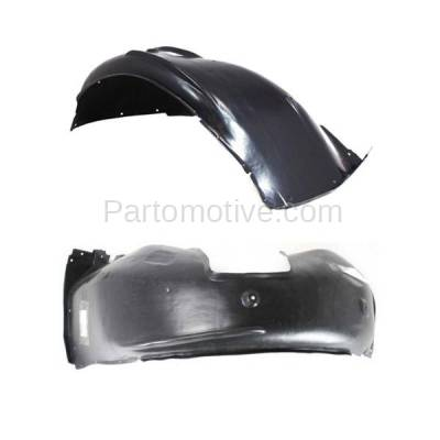 Aftermarket Replacement - IFD-1109L & IFD-1109R 97-03 5-Series Front Splash Shield Inner Fender Liner Panel Left Right SET PAIR - Image 3