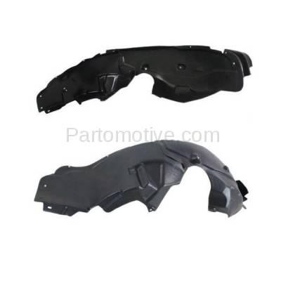 Aftermarket Replacement - IFD-1126L & IFD-1126R 11-14 Avenger Front Splash Shield Inner Fender Liner Panel Left & Right SET PAIR - Image 3