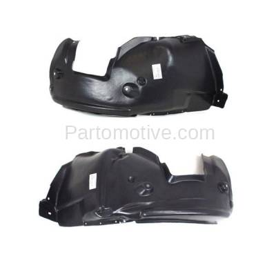 Aftermarket Replacement - IFD-1093L & IFD-1093R 08-13 1-Series Front Splash Shield Inner Fender Liner Panel Left Right SET PAIR - Image 3