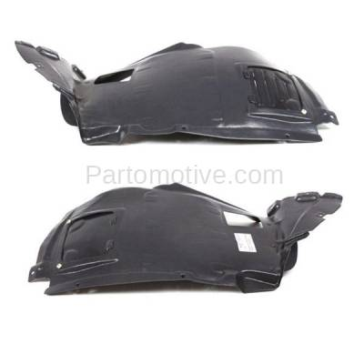 Aftermarket Replacement - IFD-1094L & IFD-1094R 08-13 1-Series Front Splash Shield Inner Fender Liner Panel Left Right PAIR SET - Image 1