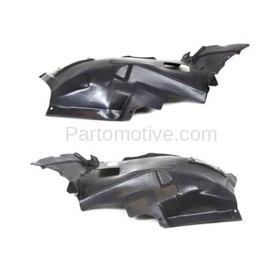 Aftermarket Replacement - IFD-1094L & IFD-1094R 08-13 1-Series Front Splash Shield Inner Fender Liner Panel Left Right PAIR SET - Image 3