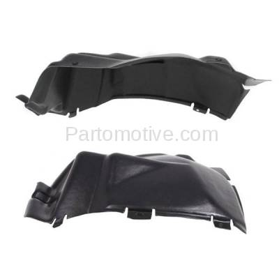 Aftermarket Replacement - IFD-1133L & IFD-1133R 03-10 Viper Front Splash Shield Inner Fender Liner Panel Left & Right SET PAIR - Image 1