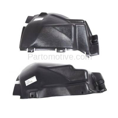 Aftermarket Replacement - IFD-1133L & IFD-1133R 03-10 Viper Front Splash Shield Inner Fender Liner Panel Left & Right SET PAIR - Image 3