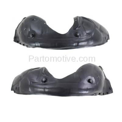 Aftermarket Replacement - IFD-1144L & IFD-1144R 11-14 300 Front Splash Shield Inner Fender Liner Panel Left Right Side SET PAIR - Image 2