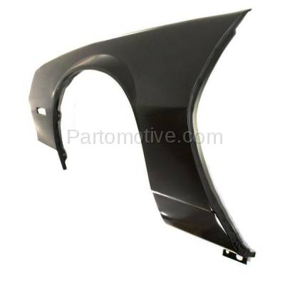 Aftermarket Replacement - FDR-1121L 1982-1992 Chevrolet Camaro Front Fender Quarter Panel with Molding Holes (without Holes for Body Cladding) Steel Left Driver Side - Image 2