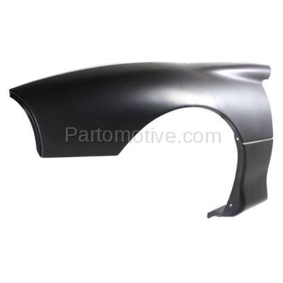 Aftermarket Replacement - FDR-1122L 1993-1997 Chevrolet Camaro (Coupe & Convertible) Front Fender Quarter Panel (without Molding Holes) Primed Plastic Left Driver Side - Image 2