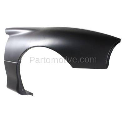 Aftermarket Replacement - FDR-1122R 1993-1997 Chevrolet Camaro (Coupe & Convertible) Front Fender Quarter Panel (without Molding Holes) Primed Plastic Right Passenger Side - Image 2