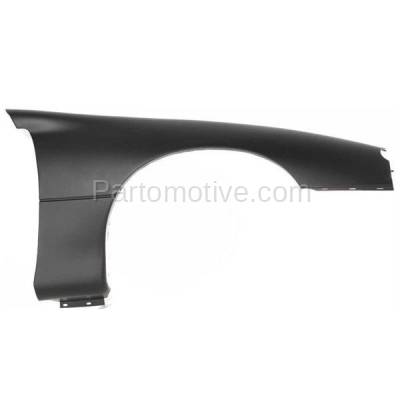 Aftermarket Replacement - FDR-1123R 1998-2002 Chevrolet Camaro (Coupe & Convertible 2-Door) Front Fender Quarter Panel Primed Plastic Right Passenger Side - Image 1