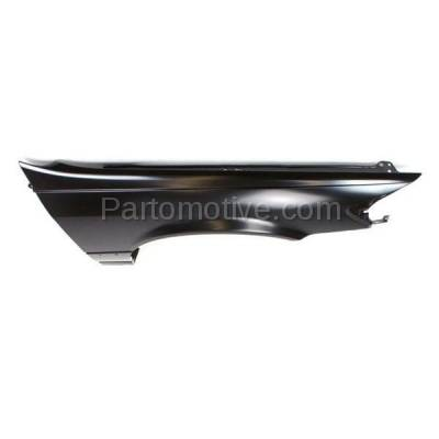Aftermarket Replacement - FDR-1129R 1997-2001 Toyota Camry (CE, LE, XLE) (USA & Japan Built) Front Fender Quarter Panel (with Molding Holes) Steel Right Passenger Side - Image 2