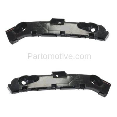 Aftermarket Replacement - BRT-1097FL & BRT-1097FR 2012-2017 Mazda 5 Front Bumper Cover Retainer Mounting Brace Reinforcement Support Bracket SET PAIR Right Passenger & Left Driver Side - Image 2