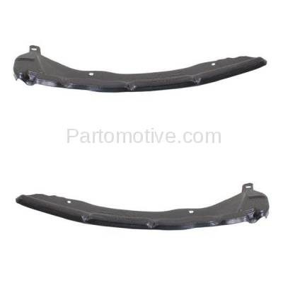 Aftermarket Replacement - BRT-1172RL & BRT-1172RR 03-08 Corolla Rear Bumper Cover Face Bar Retainer Mounting Brace Reinforcement Support Bracket SET PAIR Right Passenger & Left Driver Side - Image 1
