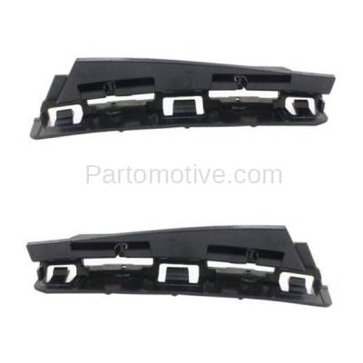 Aftermarket Replacement - BRT-1107RL & BRT-1107RR 2015-2018 Mercedes C63 AMG Rear Bumper Cover Outer Retainer Mounting Brace Reinforcement Support Bracket SET PAIR Right & Left Side - Image 2