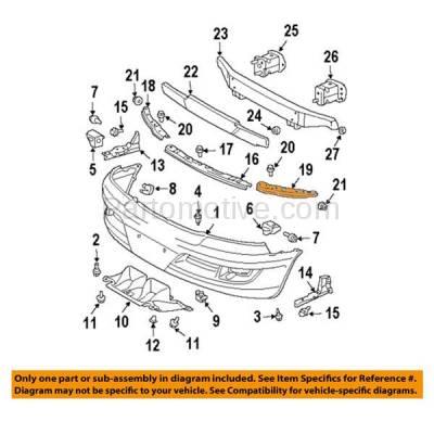 Aftermarket Replacement - BRT-1090FL & BRT-1090FR 03-09 GX470 Front Outer Bumper Cover Face Bar Retainer Mounting Brace Reinforcement Support Bracket SET PAIR Right Passenger & Left Driver Side - Image 3