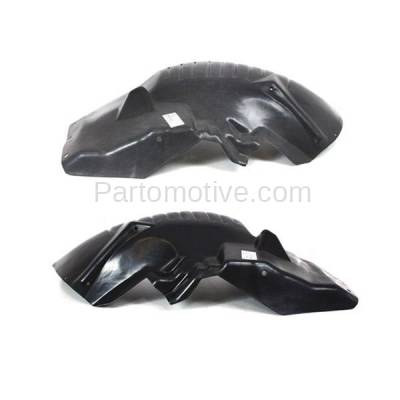Aftermarket Replacement - IFD-1132L & IFD-1132R 03-10 Viper Front Splash Shield Inner Fender Liner Panel Left & Right SET PAIR - Image 2