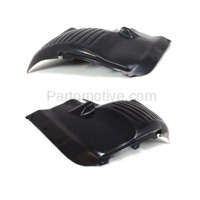 Aftermarket Replacement - IFD-1132L & IFD-1132R 03-10 Viper Front Splash Shield Inner Fender Liner Panel Left & Right SET PAIR - Image 3