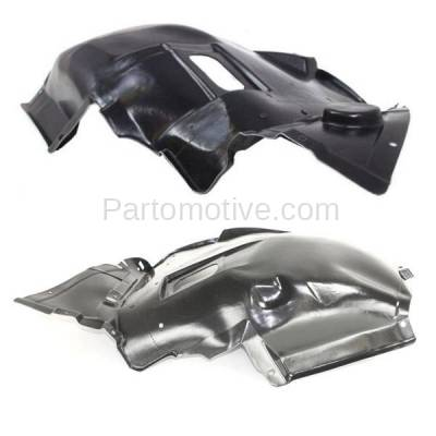 Aftermarket Replacement - IFD-1090L & IFD-1090R 07-13 3-Series Convertible & Coupe Front Splash Shield Inner Fender Liner Panel PAIR SET Left Driver & Right Passenger Side - Image 2
