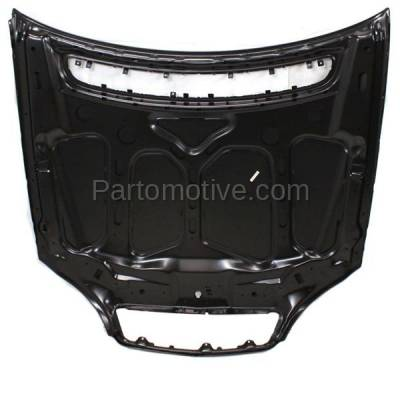 Aftermarket Replacement - HDD-1500 2001-2002 Mercedes-Benz S-Class S430/S500/S55 AMG/S600 (Base & Guard) (220 Chassis) Front Hood Panel Assembly Primed Steel - Image 3