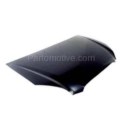 Aftermarket Replacement - HDD-1442 2007-2012 Kia Rondo (EX, EX Luxury, EX Premium, LX) Wagon 4-Door (2.4 & 2.7 Liter Engine) Front Hood Panel Assembly Primed Steel - Image 2