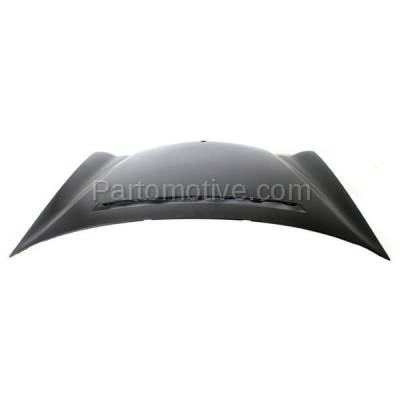 Aftermarket Replacement - HDD-1504 2000-2003 Mercedes-Benz E-Class E320/E430/E55 AMG/E500 (Sedan & Wagon 4-Door) (210 Chassis) Front Hood Panel Assembly Primed Steel - Image 3