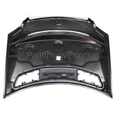 Aftermarket Replacement - HDD-1507 2006-2008 Mercedes-Benz ML-Class ML320/ML350/ML500/ML63 AMG (4Matic, Base, CDI) (164 Chassis) Front Hood Panel Assembly Primed Steel - Image 3