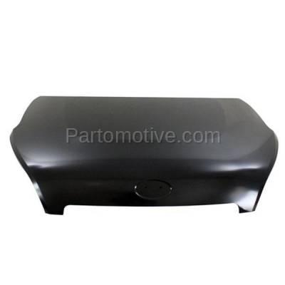 Aftermarket Replacement - HDD-1450 2012-2013 Kia Soul (2u, 4u, 4u Luxury, 4u Burner, 4u Retro, Base, Exclaim, Plus) Hatchback 4-Door Front Hood Panel Assembly Primed Steel - Image 1